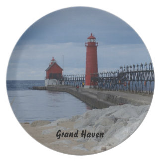 Grand Haven Lighthouse Plate