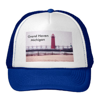 Grand Haven, MI  Lighthouse Cap