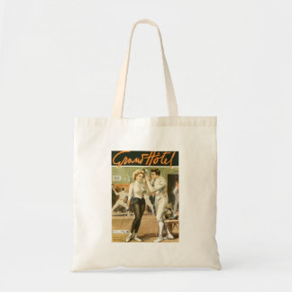 Grand Hotel Fencing Poster Tote Bag