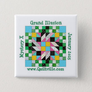 Grand Illusion pin