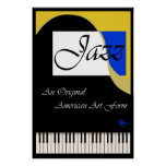 Grand Jazz Piano Poster