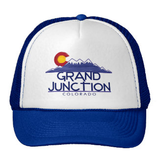 Grand Junction Colorado wood mountains hat
