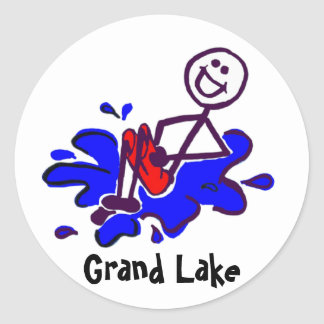 Grand Lake Cannonball Stickers