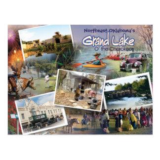 Grand Lake OK  post card  16v1