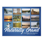 Grand Lake Oklahoma naturally 16rev post card