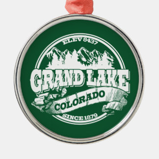 Grand Lake Old Circle Green Christmas Ornament