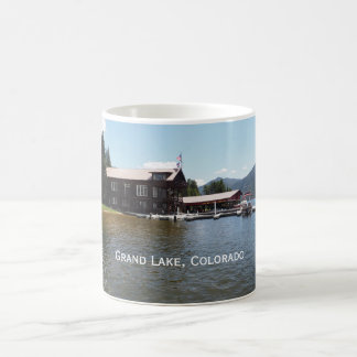 Grand Lake Yacht Club in Grand Lake, Colorado Coffee Mug