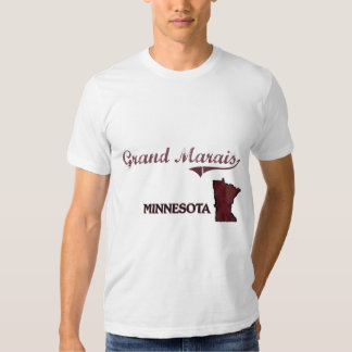 Grand Marais Minnesota City Classic Tshirt