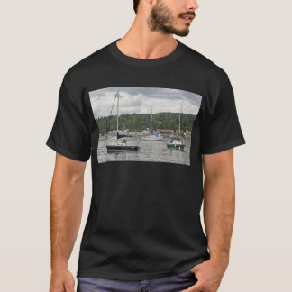 Grand Marais Sail Boats T-Shirt