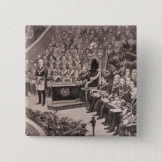 Grand Masonic Gathering in the Royal Albert 15 Cm Square Badge