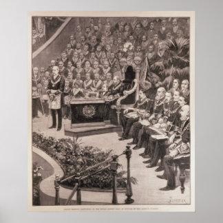 Grand Masonic Gathering in the Royal Albert Poster