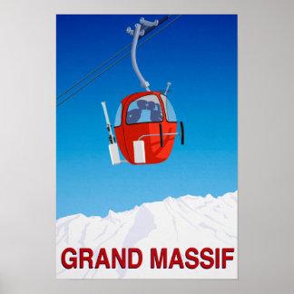 Grand Massif Poster