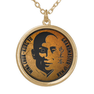 Grand Master Ip Man - Wing Chun Kung Fu Gold Plated Necklace