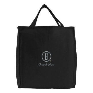 Grand-Meir's Embroidered Tote Bag