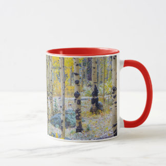 Grand Mesa Solitary cabin in a forest Mug