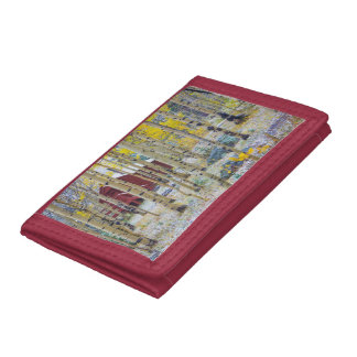 Grand Mesa Solitary cabin in a forest Tri-fold Wallets