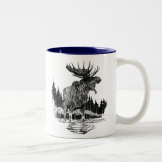 Grand Old Moose coffee mug