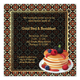 Grand Opening Bed & Breakfast Card
