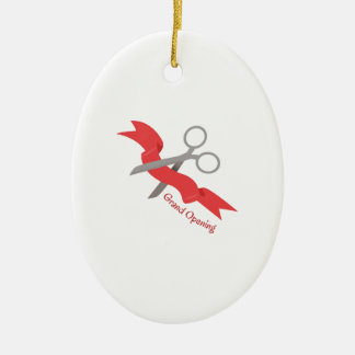 Grand Opening Christmas Ornament