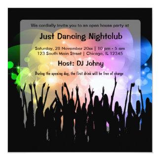 Grand Opening NightClub Card