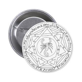 Grand Pentacle 6 Cm Round Badge