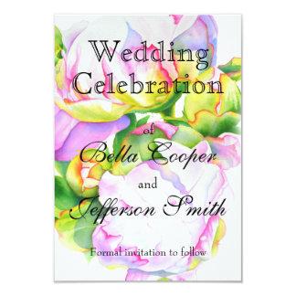 Grand Peony - wedding invitation