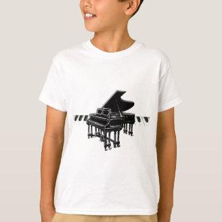 Grand Piano and Keyboard T-Shirt