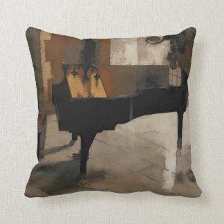 Grand Piano Artwork Cushion