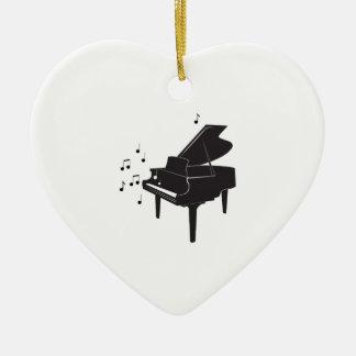 Grand Piano Christmas Ornament