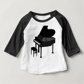 Grand Piano Drawing Baby T-Shirt