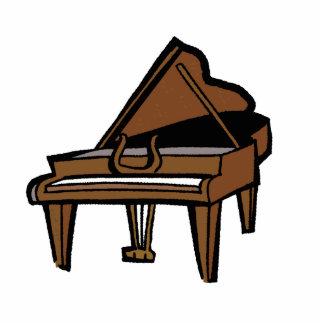 Grand Piano Graphic, Brown Image Photo Cutouts