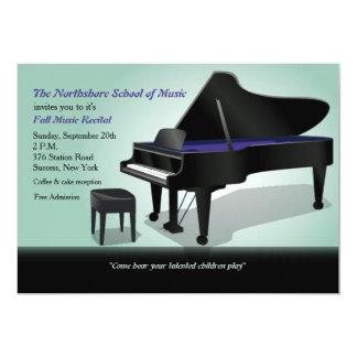 Grand Piano Invitation