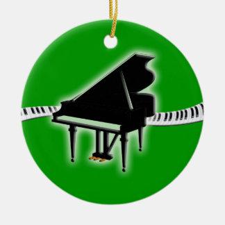 Grand Piano Keyboard Ornament