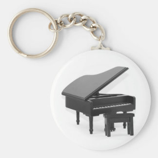 Grand piano keychain