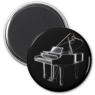 Grand Piano Musical Classical Instrument Magnet