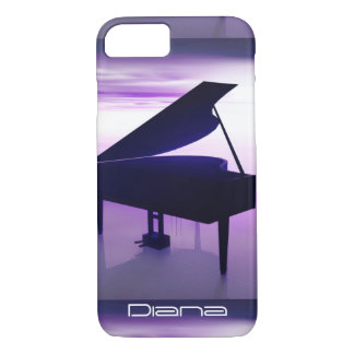 Grand Piano on the Beach iPhone 7 Case