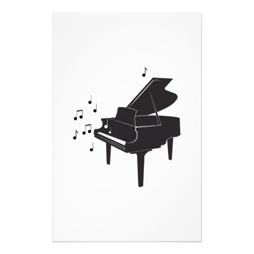 Grand Piano Stationery Paper