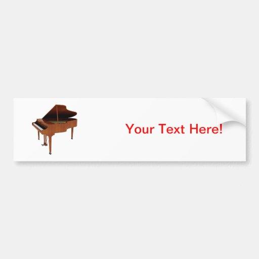 Grand Piano: Wood Finish: 3D Model: