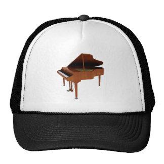Grand Piano: Wood Finish: 3D Model: Cap