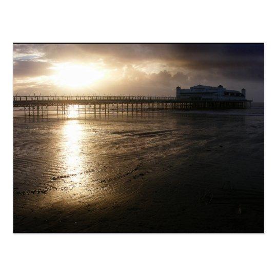 Grand Pier Weston Super Mare Postcard