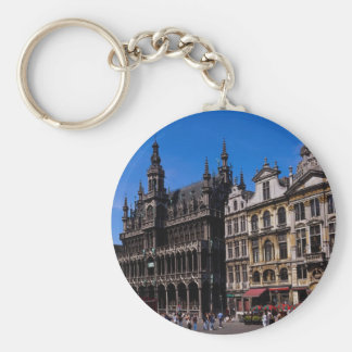 Grand Place, Brussels, Belgium Key Ring