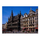 Grand Place, Brussels, Belgium Postcard