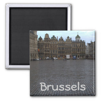 Grand Place, Brussels Fridge Magnets
