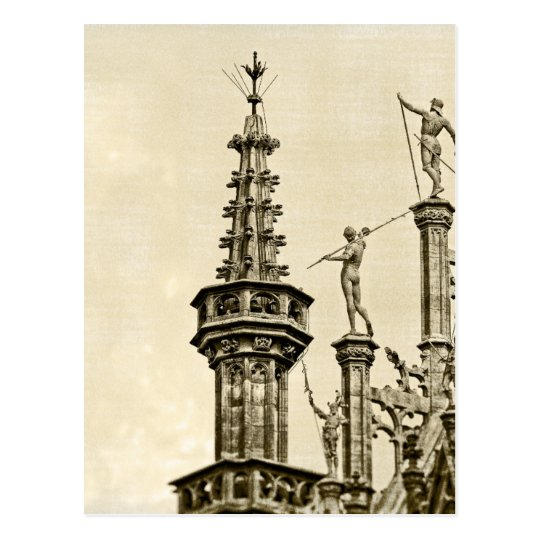 Grand Place in Brussels, Belgium Postcard
