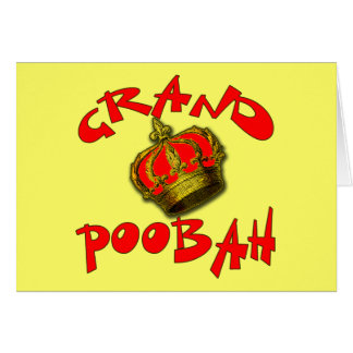 Grand Poobah with Crown Products Greeting Card