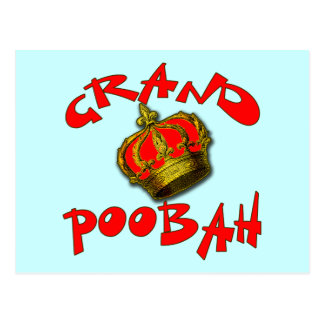 Grand Poobah with Crown Products Postcard