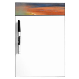 Grand Prismatic Spring Runoff Dry Erase Board