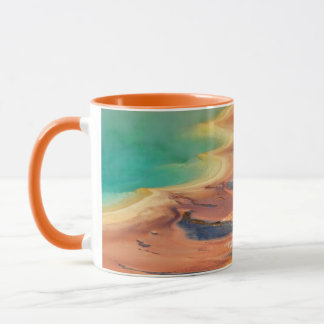 Grand Prismatic Spring Runoff Mug