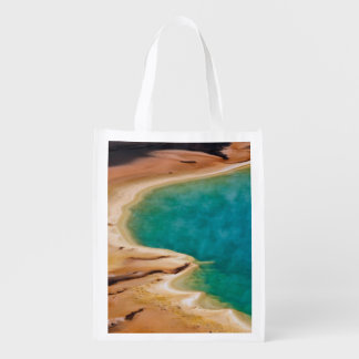 Grand Prismatic Symphony Reusable Grocery Bag