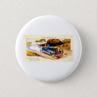 Grand Prix De France 1913 ~ Vintage Advertisement 6 Cm Round Badge
